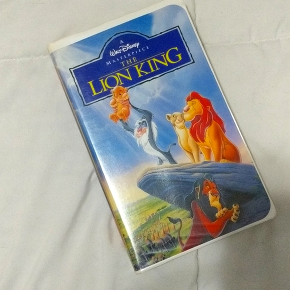 3/20 VHS The Lion King